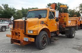 100 International 4700 Dump Truck 1995 Dump Truck Item FT9842 SOLD Oct
