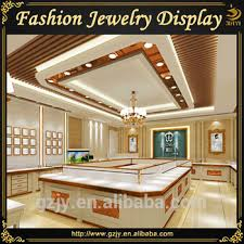 Fashion Jewellery Shop Fitting Display Cabinet For Ring And Necklace Retail Store