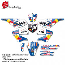 kit deco derbi senda xtreme kit déco 50 derbi 03 07 perso