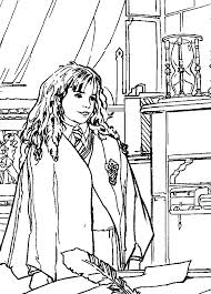 Girlfriend Harry Potter Coloring Pages