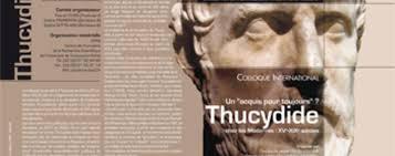 la réception de thucydide de l antiquité au xixe siècle