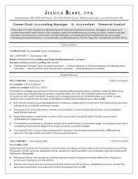 Cpa Resume Examples Sample Monstercom