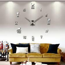 wanduhren design wand uhr wohnzimmer wanduhr wandtattoo