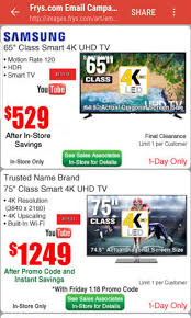 Samsung 65 Inch 4K @529 @frys And 75 Inch At 1249 $529 ...