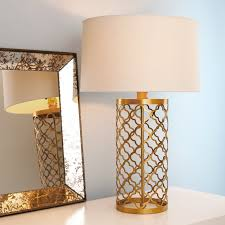 Laser Cut Lamp Shade by Quatrefoil Cage Table Lamp Shades Of Light