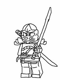 Free Printable Coloring Ninjago Page 73 For Line Drawings With