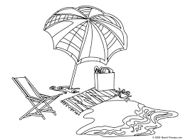 To Print Beach Coloring Page 26 On Free Book With