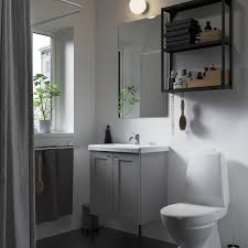 enhet tvällen badezimmer set 11 tlg grau rahmen