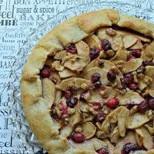 Rustic Apple And Cranberry Tart Recipe