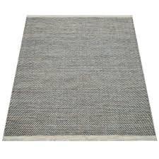 teppiche wohnzimmer teppich blau weiß handgewebtes