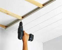 comment monter faux plafond pvc salle de bain
