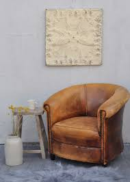 Chairs : Vintage Worn French Leather Club Chair With Arms Home ... Cream Vintage Bedroom Fniture Uv Chairs Mid Century Leather Club Chair French Modern Jean Armchair Jayson Home Armchair The Hoarde Articles With Ding Room Tag Surprising Style Line For Your Office Architect 18th And Earlier Wingback 72 For Sale At 1stdibs French Country Cottage Linen Blue Love This Chair Eloquence One Of A Kind Louis Xv Gilt Armchairs Small With Letter Back And Pink Pairs Antique Painted Sofa Lovely High Pl121709