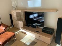 thielemeyer wohnzimmer sideboard regal schrank mit vitrine
