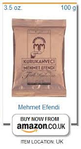 Mehmet Efendi Small Turkish Coffee Package