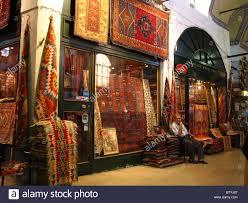 Carpet Shop In Grand Bazaar Istanbul Turkey