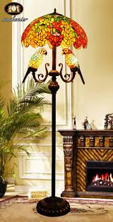 Tiffany Style Glass Torchiere Floor Lamp by Tiffany Style Glass Torchiere Floor Lamp Floor Lamp Control Brand