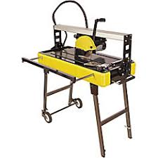 Brutus Tile Saw Manual by Brutus 24 Inch Professional Tile Saw With Stand The Home Depot