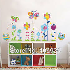 New Arrival Removable Bedroom Wall Decals Nursery School Wall