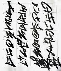 Graffiti Alfabet Tag