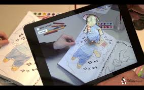 And The Video Stream Is Augmented With An Animated 3 D Version Of Character That Textured According To Childs Coloring