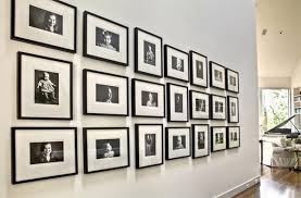 If Youre Looking For A Unique Way To Display Your Family Photos Try Creating Gallery Wall Using Dramatic Black And White