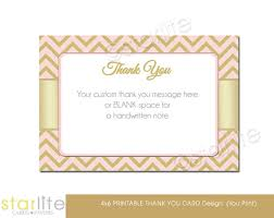 Your Custom Thanks Message Here Or Blank Space For A Handwritten Note Thank You Bridal Shower Cards