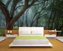 chambre foret poster mural nature une bouffée d air frais en 33 idées
