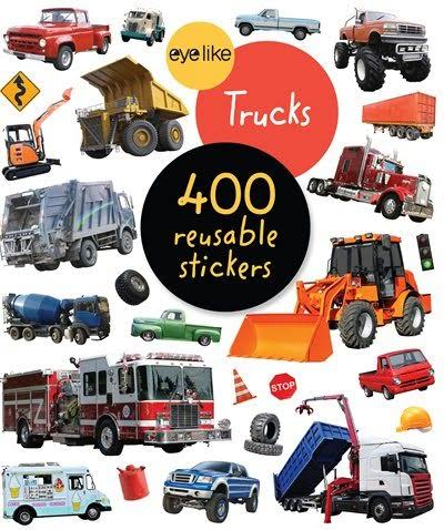 Eyelike Stickers: Trucks [Book]