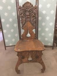 Antique Mid 1800's Tiger Oak Chair By Stomps-Burkhardt W/ Large Lion ... Antique Baby High Chair That Also Transforms Into A Rocking Peter H Eaton Antiques 8 Federal St Wiscasset Me 04578 17th Century Walnut Back Peacock Carved Cresting Rail English Pair Of Georgian Chippendale Mahogany Office Desk Colctibles Renewworks Home Decor And Vintage Windsor Chairs 170 For Sale At 1stdibs Set Of Six Manufactured In Italy Mid 1800s Whats It Worth Find The Value Your Inherited Fniture Stomps Burkhardt Carved Saddle Chair Unique Green Man Amazoncom Evenflo 4in1 Eat Grow Convertible High West Country Spindle Back Armchair C1800