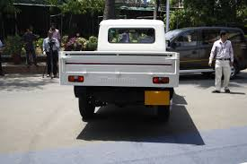 Mahindra Bolero Maxi Truck Plus White Rear