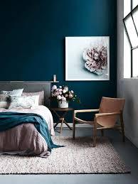 bleu chambre chambre bleu marine et deco bleue peinture glycacro chambe a