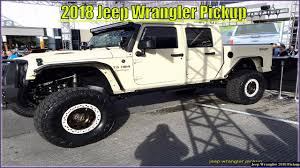 Jeep Wrangler Pickup - New 2018 Jeep Wrangler Pickup Truck Specs And ...