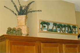 Above Kitchen Cabinet Decorations Pictures by How To Decorating Above Kitchen Cabinets Righteously Design