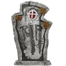 Halloween Decoration Tombstone Sayings by 100 Halloween Grave Stone 22 Thrifty Crafty 31 Days Of