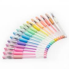 Amazon AmazaPens Coloring Gel Pens For Adult Books 16 Pastel Colors