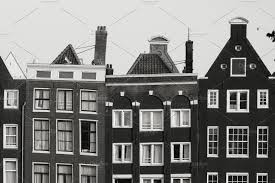 100 Beautiful White Houses Black And White Photo Of Beautiful Medieval Houses In Amsterdam Netherlands Europe