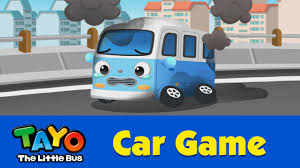EN) [Tayo Car Game] #06 Tow Truck - YouTube