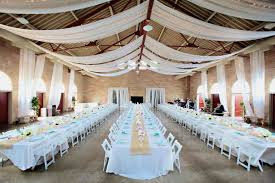 Elegant Using Draping Lovely Avant Our Partners Wedding Reception Ceiling Decor