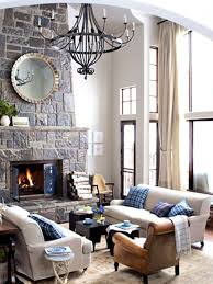 Living RoomModern Rustic Room Prepossessing Decor Urban Industrial Plus Outstanding Picture Red Sofa