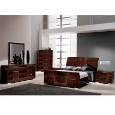 Pisa King Sleigh Bed Made in Italy