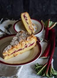 ruck zuck rhabarberkuchen schneller einfacher leckerer