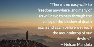 Inspirational Quote Nelson Mandela