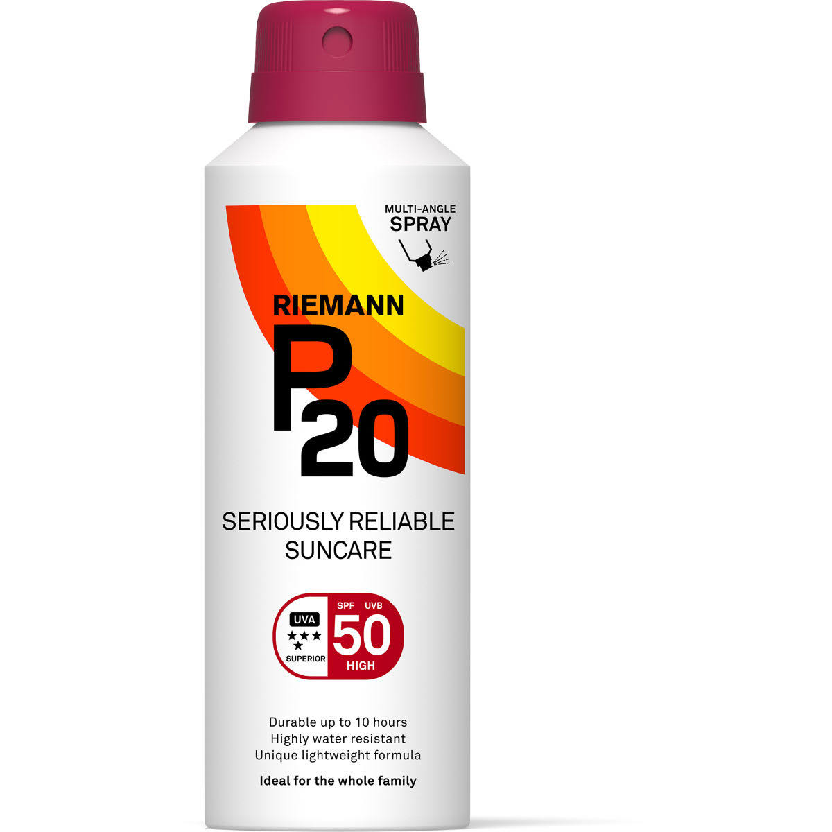 Riemann P20 Seriously Reliable Suncare - SPF 50, 150ml