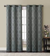 Amazon Curtain Rods Long by Amazon Com Hlc Me Bryant Energy Saving Blackout Window Curtain