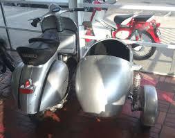 Vespa Sidecar Classic Vintage Scooter Piaggio Lambretta Mo Ped
