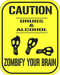 Zombie Coloring Pages Red Ribbon Week Slogans Free Sheets 2012 Pdf