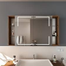 spiegelschrank mit fächern für ihr bad glaswerk24