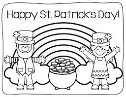 Best St Patricks Coloring Pages 91 About Remodel Free Colouring With