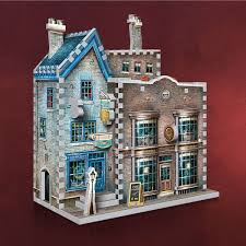 Harry Potter Madam Malkins Anzüge Florean Fortescues Eissalon 3D Puzzle