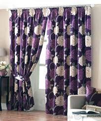 Grey And Purple Living Room Curtains aubergine purple curtains savae org